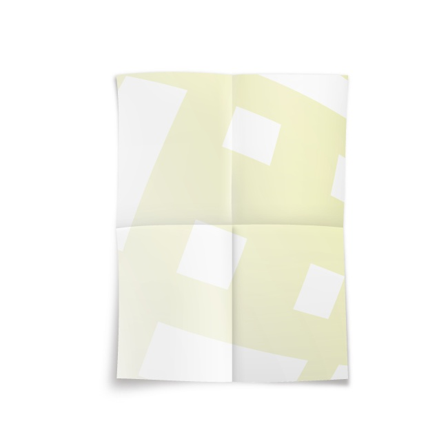 4K十字2摺海報-雪銅紙